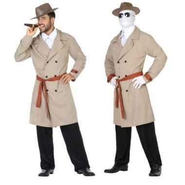 Invisible man/detective verkleed pak/kostuum voor heren