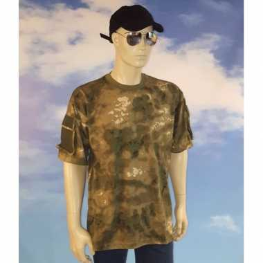 Jagers camouflage t shirt
