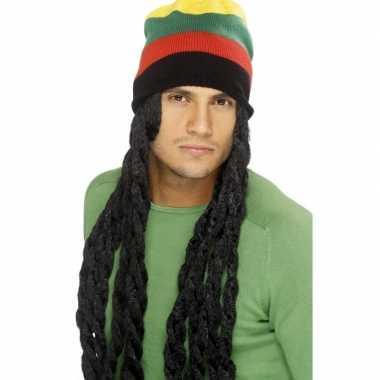 Jamaica muts met dreadlocks