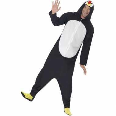 Jumpsuit pinguin all in one voor volwassenen