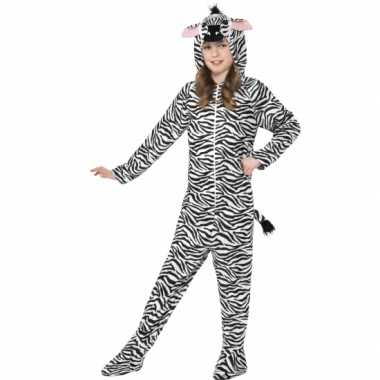 Jumpsuit zebra all in one voor kinderen