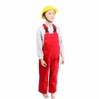 Kinder tuinbroeken rood