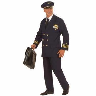 Kostuum piloot voor heren