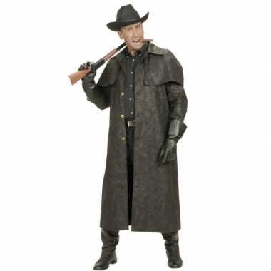 Lange heren jas voor cowboys