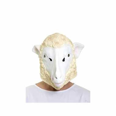 Latex schaap masker