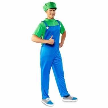 Luigi heren verkleedkleding