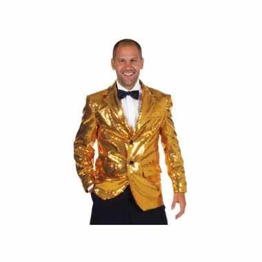 Luxe gouden blazers voor mannen