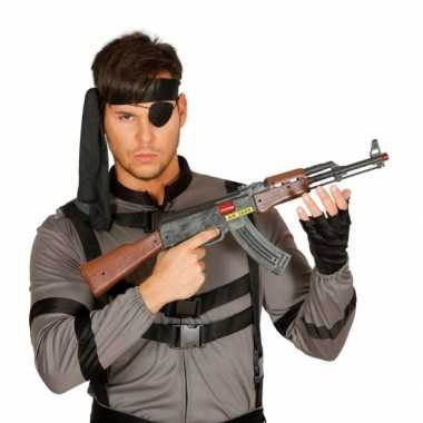 Machinegeweer plastic ak 47 62 cm