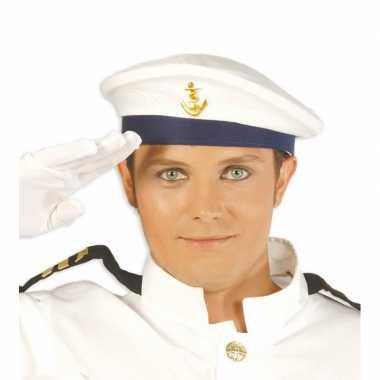 Marinier sailor baret voor volwassenen