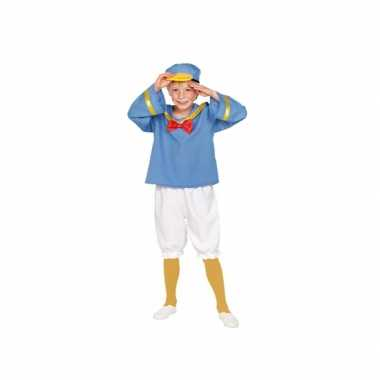 Matrozen eend kinder verkleed pak