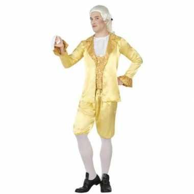 Middeleeuwse lakei verkleed kostuum voor heren