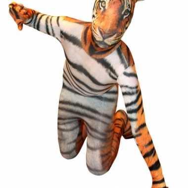 Morphsuit pak met tijger print