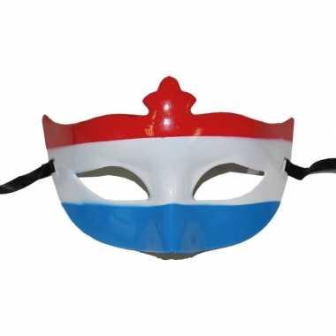 Nederlandse vlag oogmasker