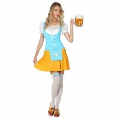 Oktoberfest voordelig oktoberfest verkleed jurkje voor dames