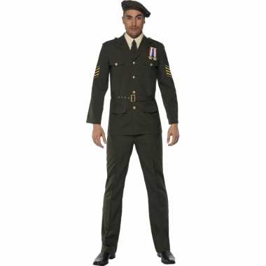 Oorlog officier kostuum