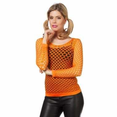 Oranje net-shirts
