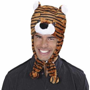 Originele tijgers muts voor volwassenen