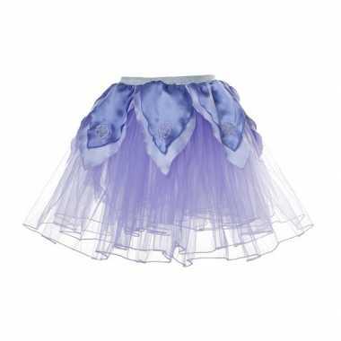 Paarse fee verkleed tutu voor meiden