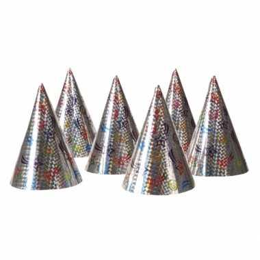 Party hoedjes 6x