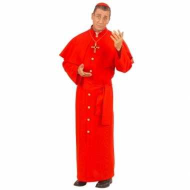 Paus kostuum rood