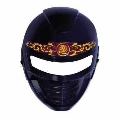 Plastic ninja masker voor kinderen