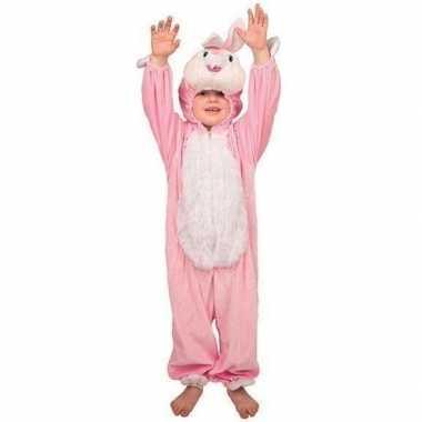 Pluche konijn kostuums kinderen