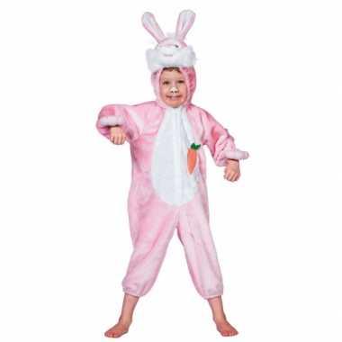Pluche konijn pak voor kinderen