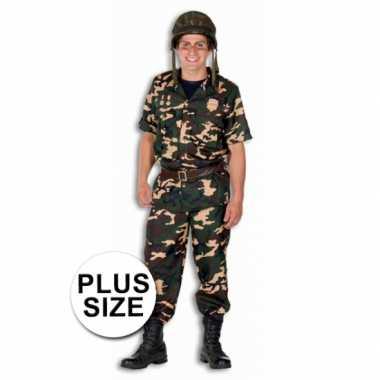 Plus size leger kostuums