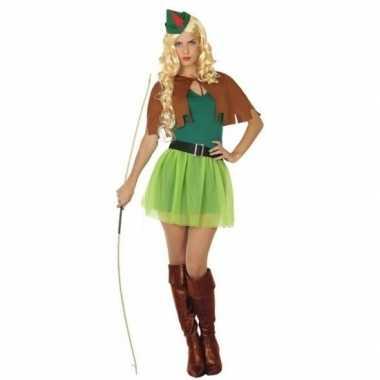 Robin hood kostuum 4 delig voor dames