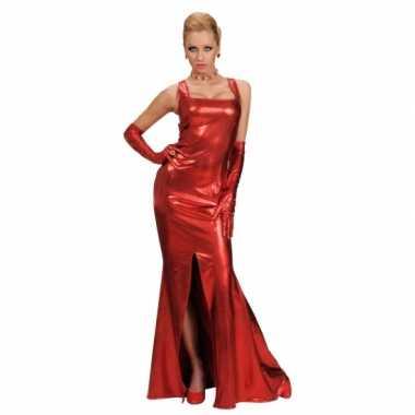 Rode sjieke jurk