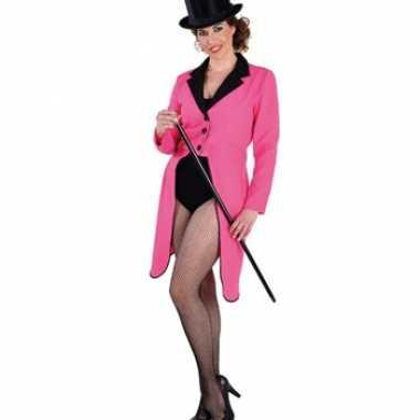 Roze circus slipjas voor dames