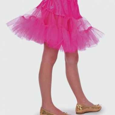 Roze onderrokje voor meisjes