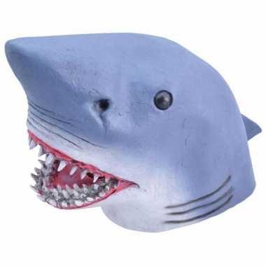 Rubber masker haaien kop