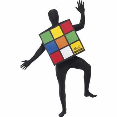 Rubiks kubus outfit volwassenen
