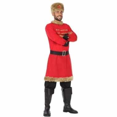 Russische kozak verkleed kostuum voor heren