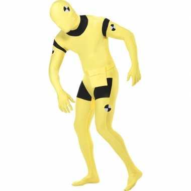 Second skin pak van een test pop