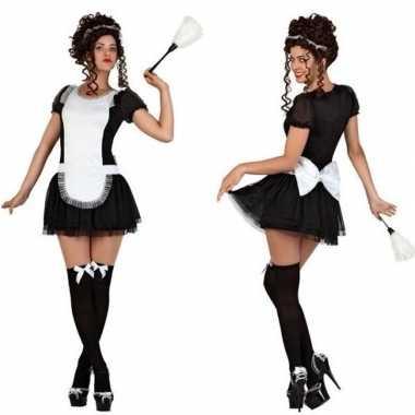 Sexy dienstmeisje verkleed kostuum/jurkje voor dames