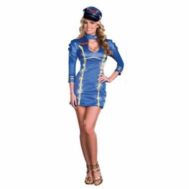c04ff7a7eff120 Sexy lichtgevende stewardessen outfit