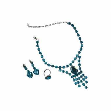 Sieraden voor een prinses turquoise