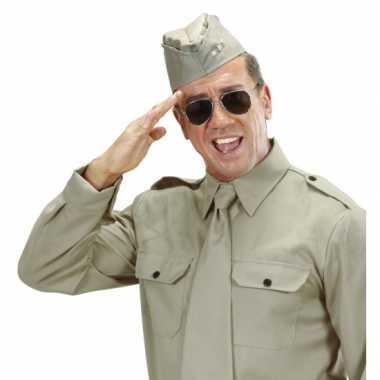 Soldaten mutsje met 3 sterren