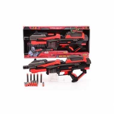 Speelgeweer 54 cm met foam kogels
