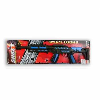 Speelgoed politie/soldaten machinegeweer 62 cm
