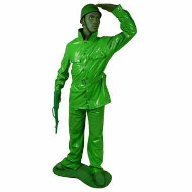 Speelgoed soldaten kostuum 7 delig