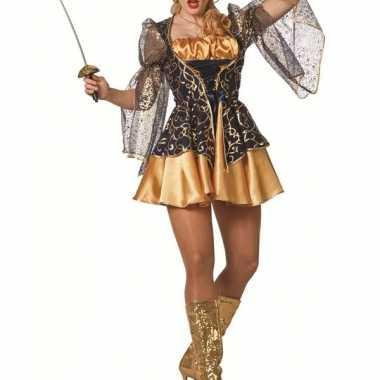 Stoer musketiers jurkje voor dames
