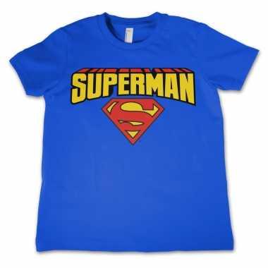 Superman t shirt voor jongens/meisjes