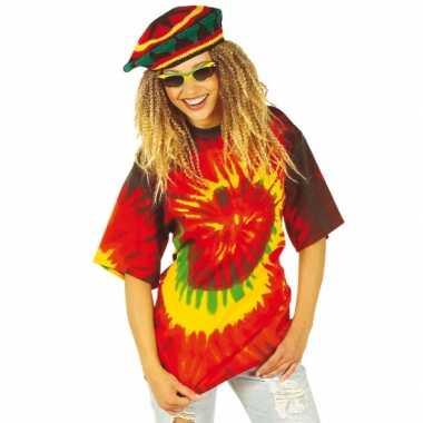 Tie dye hippie shirt