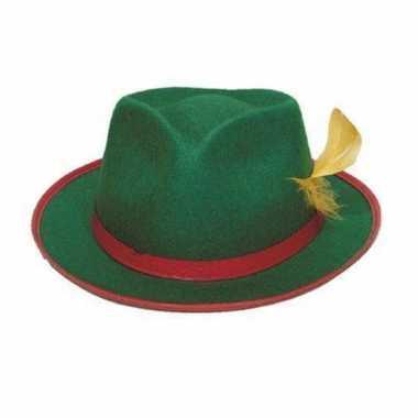 Tiroler hoed groen