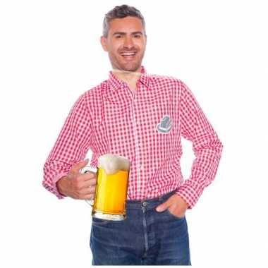 Tiroler overhemden geblokt voor heren