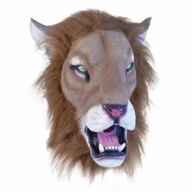 Verkleed masker leeuw