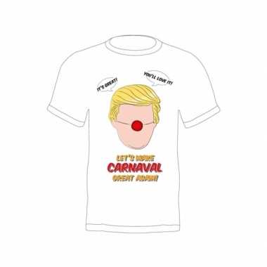 Verkleed president trump shirt make carnaval great again